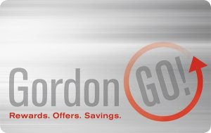 Gordon GO card