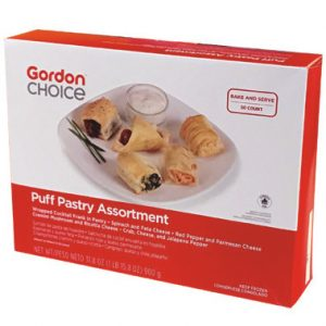 Gordon Choice Puff Pastry Assortment