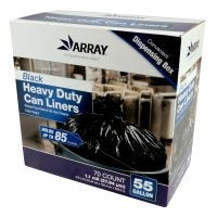 55-Gallon Black Heavy-Duty Can Liners