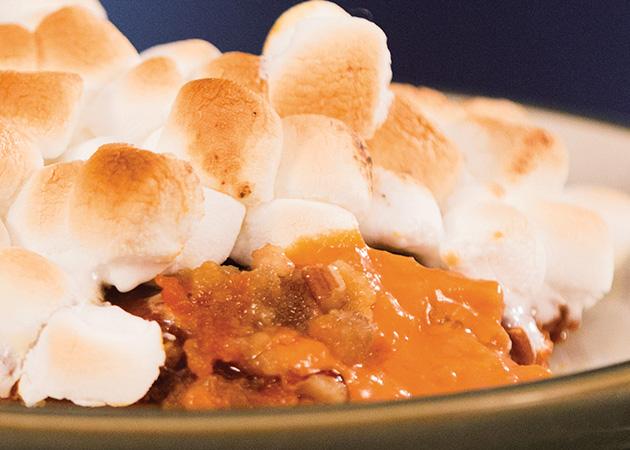 Candied Pecan Sweet Potato Casserole
