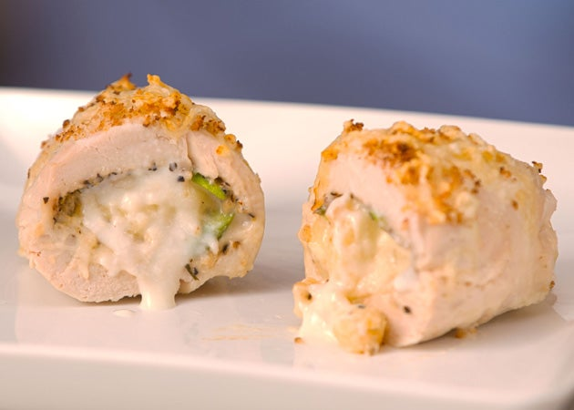Mac & Cheese Stuffed Chicken