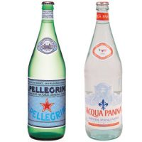 1-Liter Sparkling Mineral Water or Spring Water