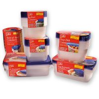 Storage Containers, With Lids