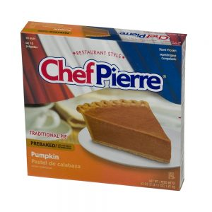 Pre-baked Pumpkin Pie