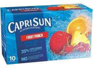 Capri Sun Fruit Drinks - Fruit Punch