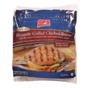 Mesquite Grilled Chicken Breast