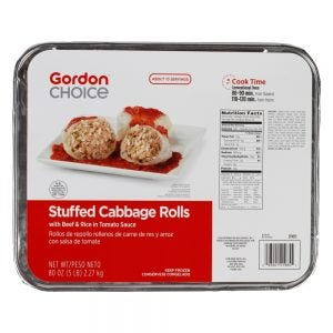 Gordon Choice® Stuffed Cabbage Rolls with Sauce