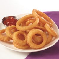 "Onion Rings, 3/8"", Battered"