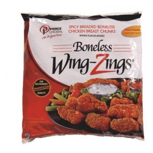 Boneless Wing Zings