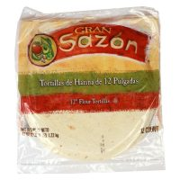 "12"" Flour Tortillas"