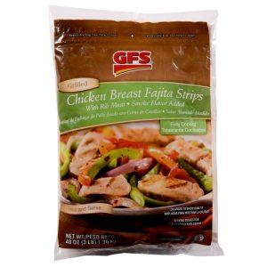 Marinated Chicken Breast Fajita Strips