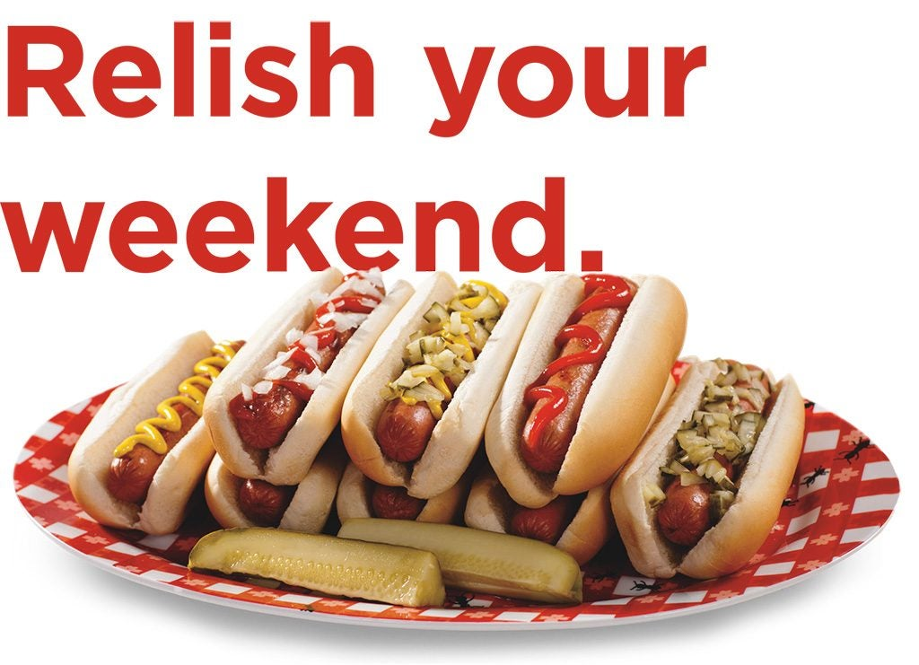 Relish your weekend.