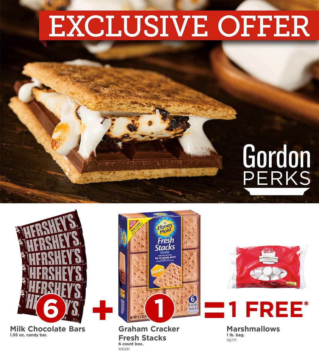 S'mores PERKS Offer