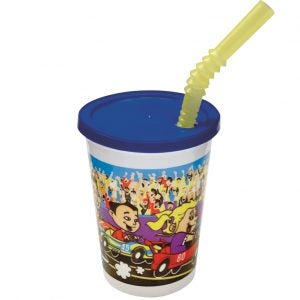 Kids' Cup with Lid & Straw
