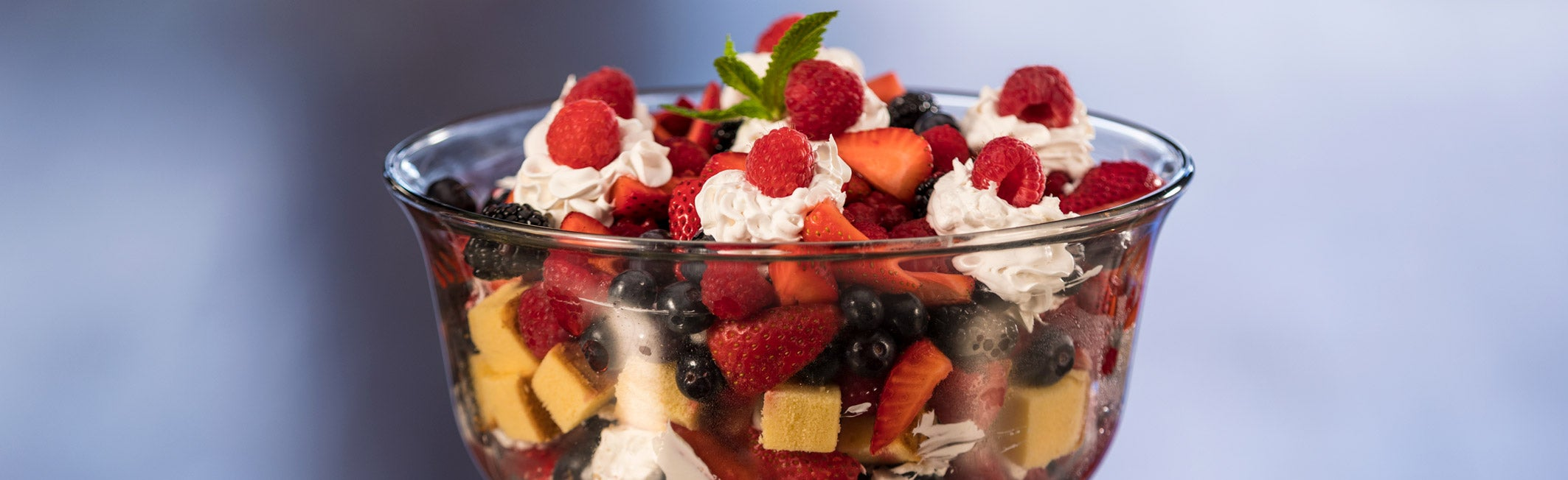 Go Food Berry Trifle