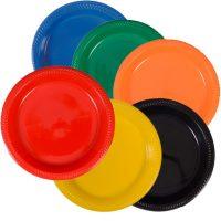 """10"""" Plastic Plates"""