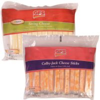 Mozzerella String Cheese or Colby-Jack Cheese Sticks