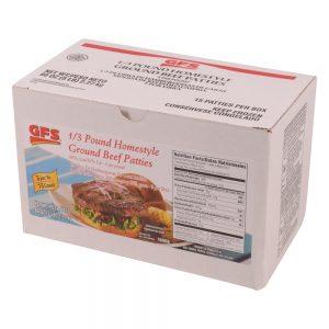 Homestyle Ground Beef Patties