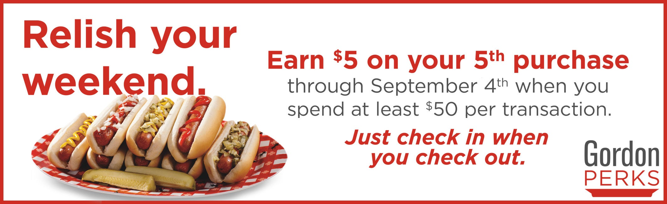 Earn $5 on your 5th purchase. Learn how!