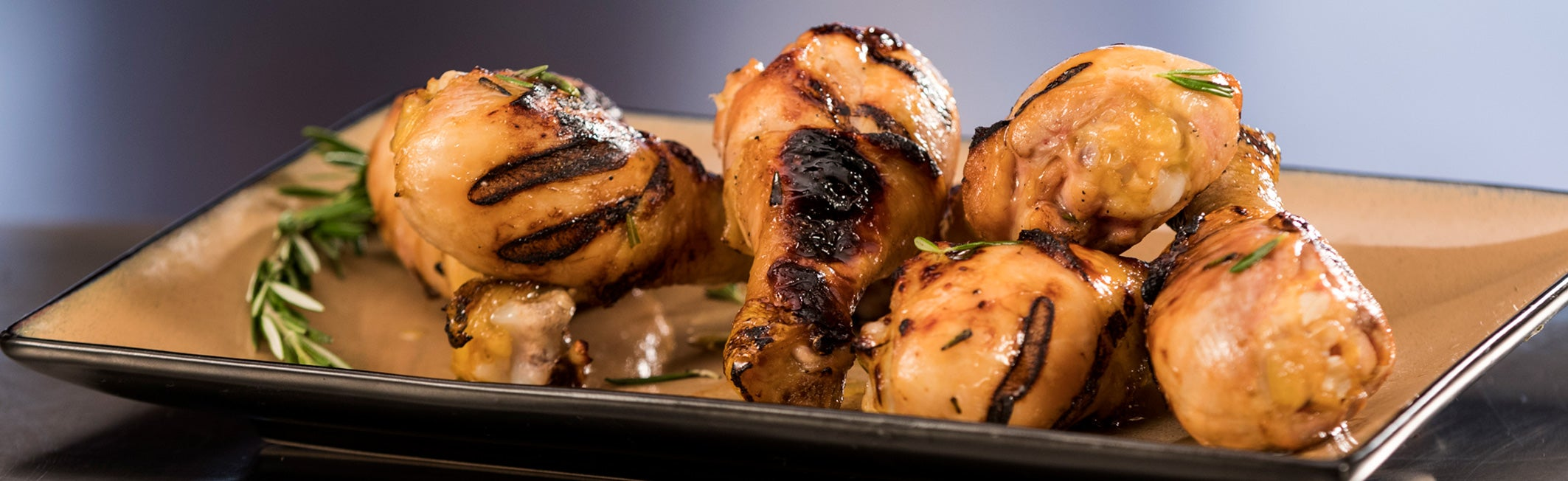 Go Food! Rosemary Grilled Chicken Drumsticks