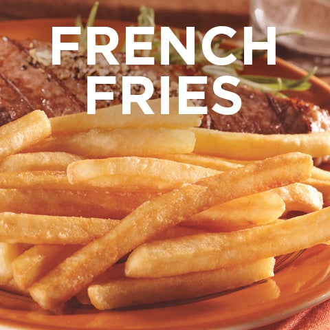 5% Rebate on case purchases of french fries