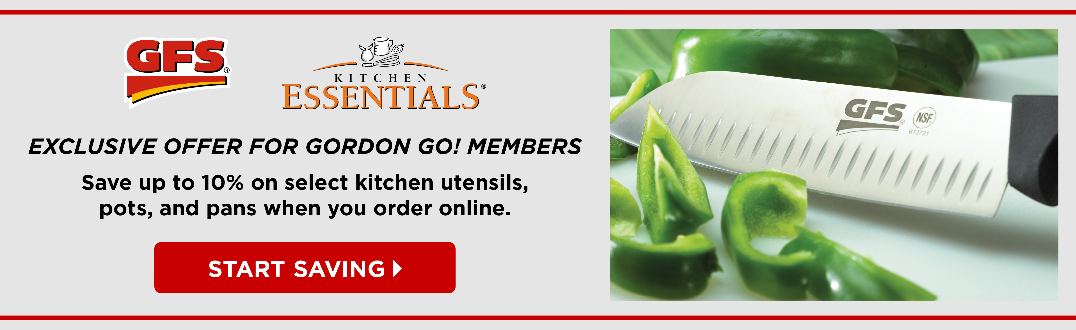 Exclusive Offer for Gordon GO! Members - Online Only Sale