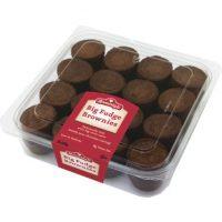 Bite-Size Fudge Brownies