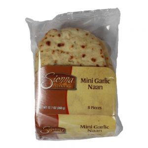 Mini Garlic Naan Flatbread