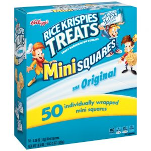 Rice Krispies Treats Mini Squares