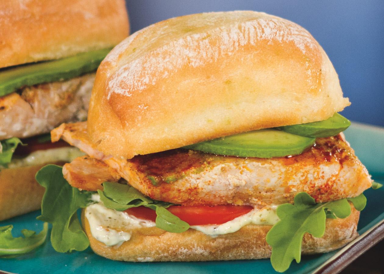 Grilled-Salmon-Ciabatta-Sandwich