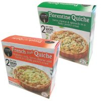 Cuisine Adventures Florentine or French-Style Quiche
