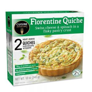 Cuisine Adventures Florentine Quiche