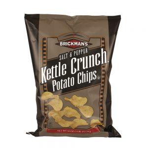 Kettle Crunch Potato Chips - Salt & Pepper