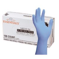 Nitrile Powdered Gloves