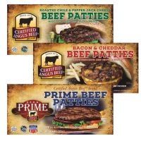 Premium Beef Patties