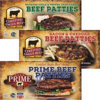 Certified Angus Beef Premium Patties
