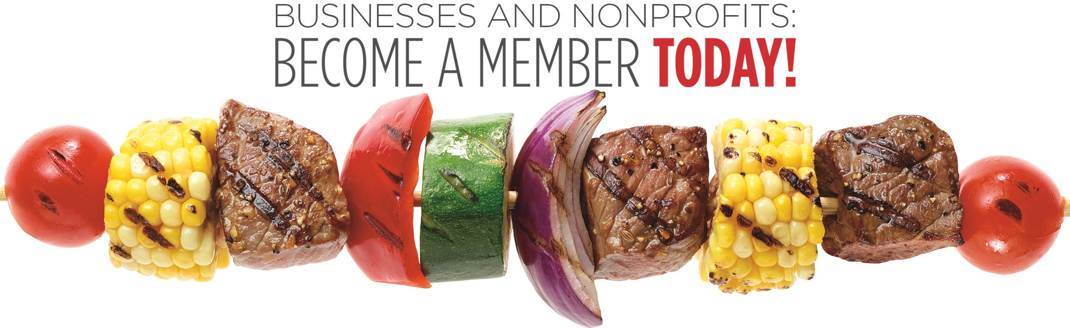 Businesses and Nonprofits: Become A Member Today!