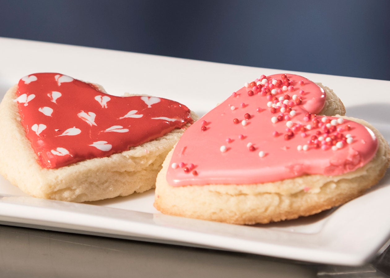 Valentine Heart Cookies Go Food Gordon Food Service Store