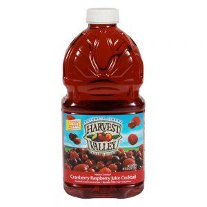 Harvest Valley Cranberry Raspberry Juice
