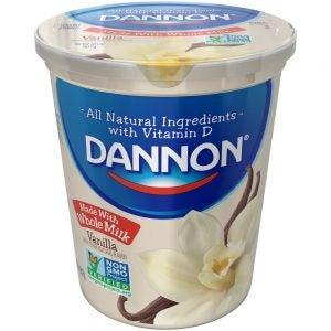 Dannon Low-Fat Vanilla Yogurt