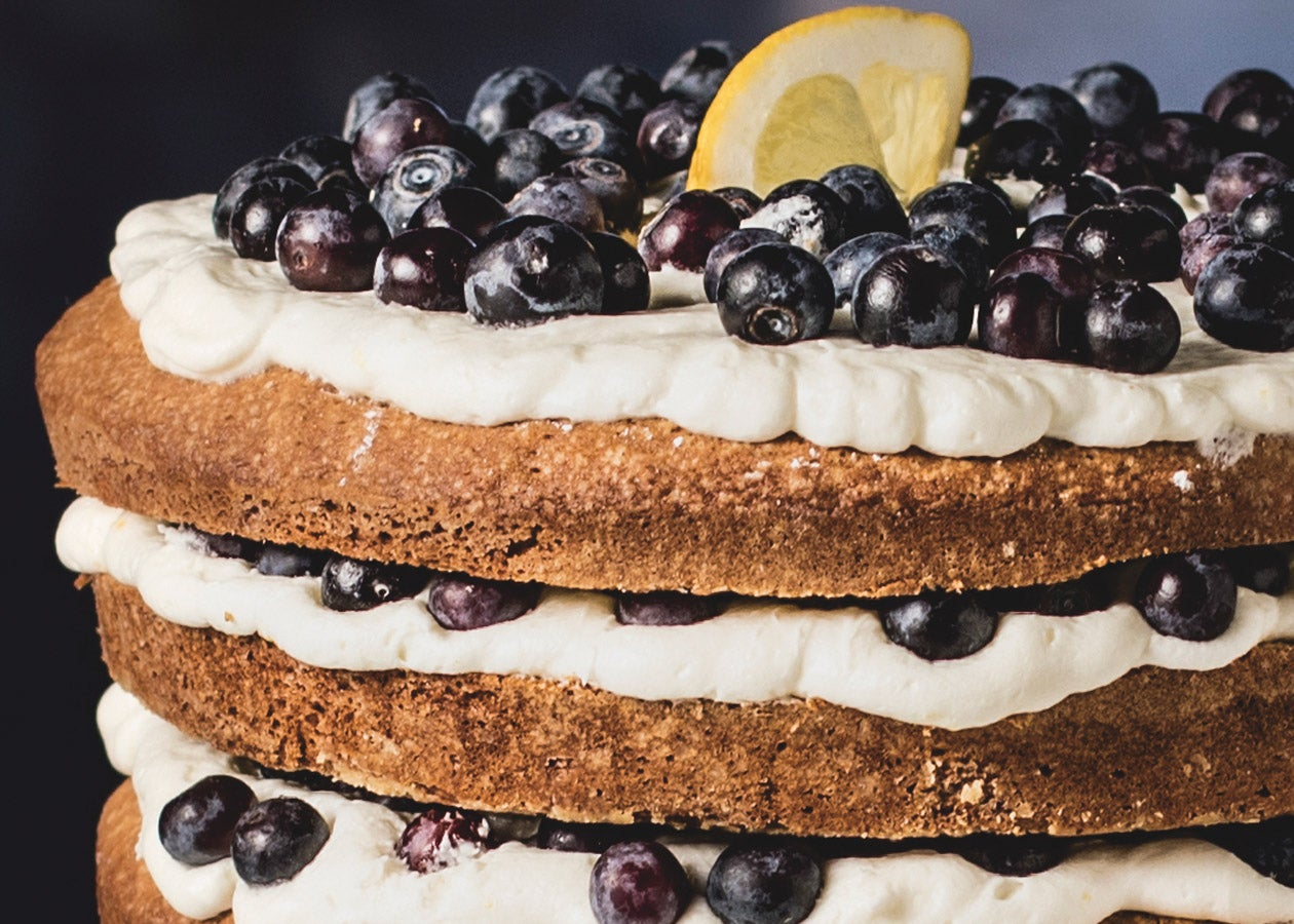 Lemon-Blueberry-Layer-Cake