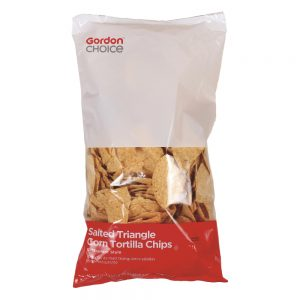 Round Corn Tortilla Chips