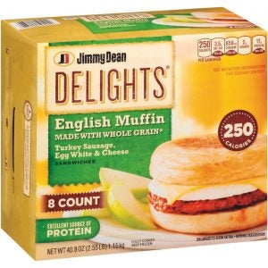 Jimmy Dean Delight Breakfast Sandwiches