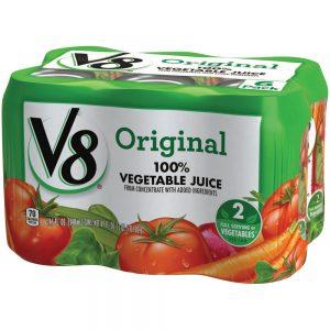 V-8 100% Vegetable Juice