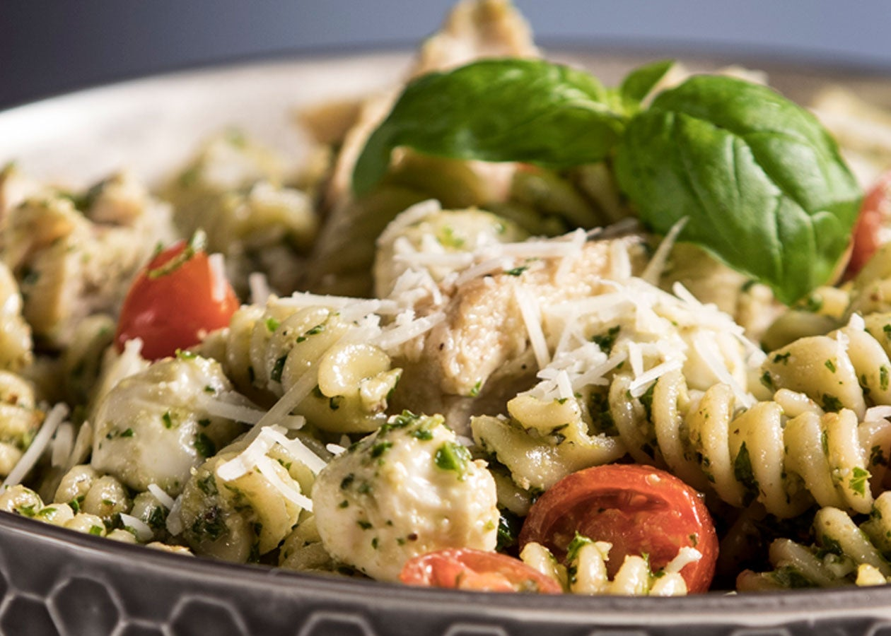 Kale Pesto Chicken Pasta