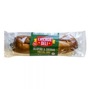 Chicago Deli Jalapeño & Cheddar Pretzel Dog