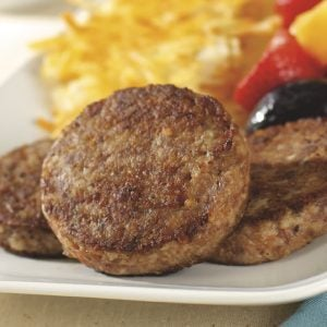 Whole Hog Sausage Patties