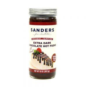Sander's Extra Dark Chocolate Hot Fudge Topping