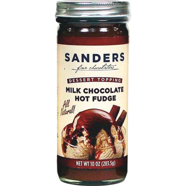 Sander's Milk Chocolate Hot Fudge Toppings