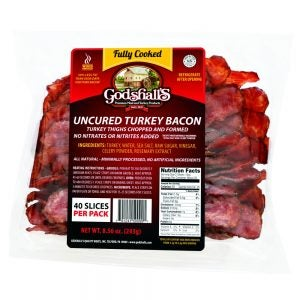 Godshall's Cooked Turkey Bacon
